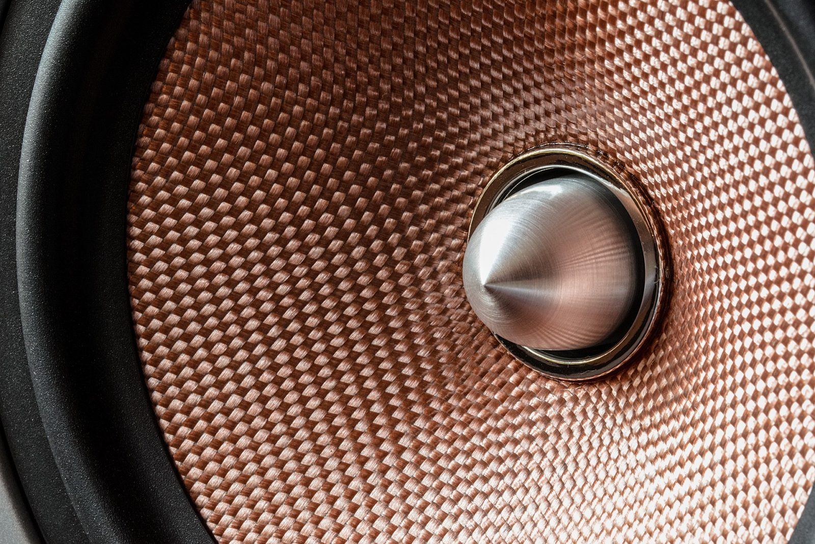 copper metal in speakers