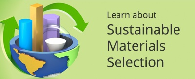 Learn about sustainable materials selection